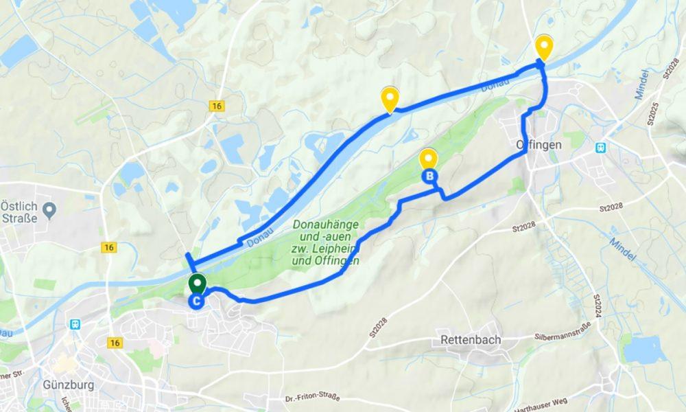 ferienwohnung_guenzburg_Route_Donau