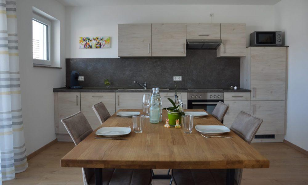 Wohnesszimmer & Küche - Esstisch Nahaufnahme