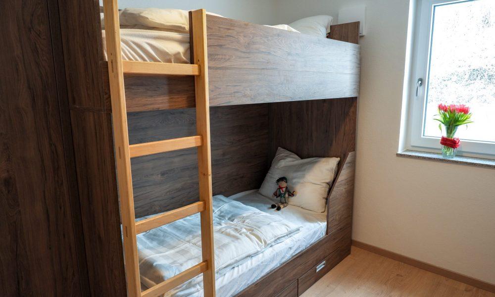 kleines Schlafzimmer - Stockbett